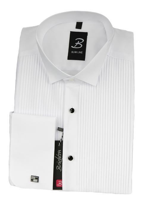 4bcc3895 Brighton koszula biała na spinki 45 182/188 KB004_45K