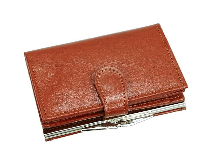 3544b8ddc53aa VALAR brązowy portfel damski - skóra naturalna. PORTD 6K – sklep ...
