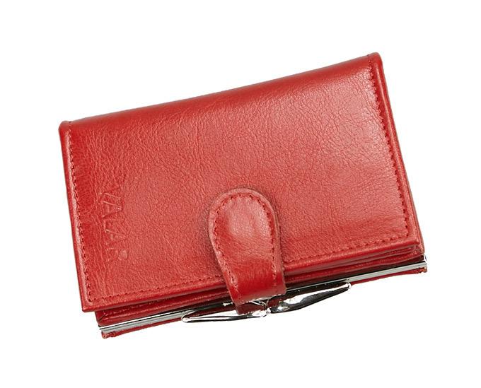 05507ac1a02d0 VALAR czerwony portfel damski - skóra naturalna. PORTD_7K – sklep ...